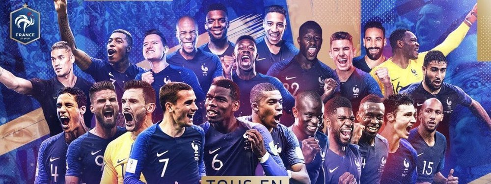 FIFA World Cup Final for Les Bleus