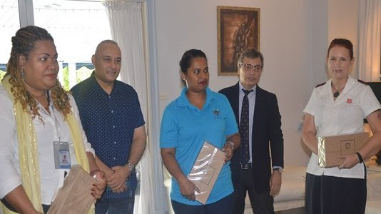 French Embassy donates food rations to local organizations