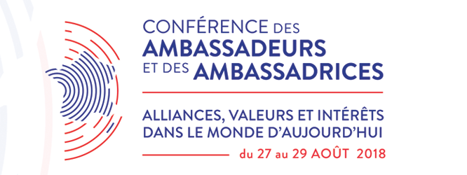 Ambassadors' Conference – 26th edition (August 27-31, 2018)