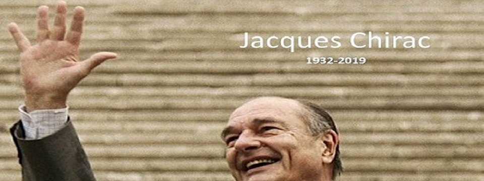 Tribute to Former French President Jacques Chirac