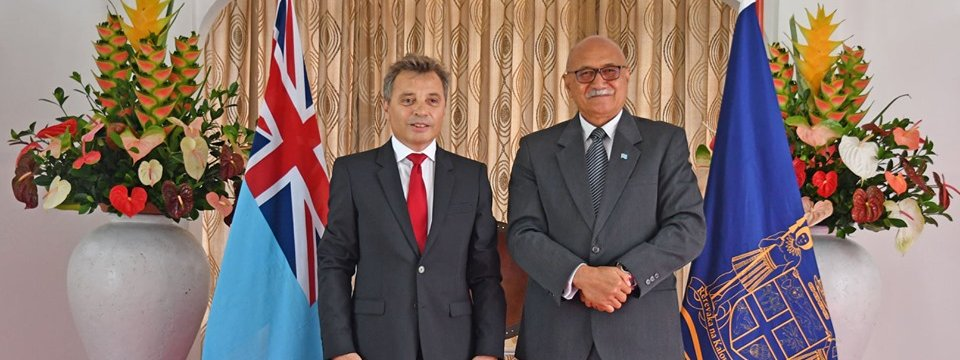 New French Ambassador to Fiji presents his credentials